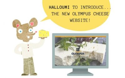 Halloumi To Introduce the New Olympus Cheese Website