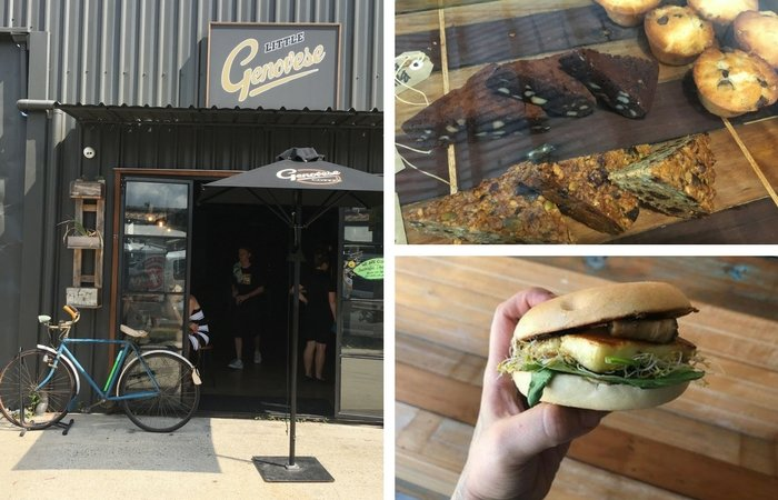 Olympus Cheese on the Menu: Little Genovese Cafe, Coorparoo