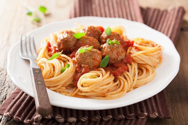 Beef and Ricotta Meatballs with Olympus Cheese Ricotta