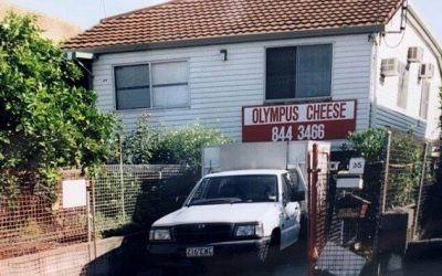 From A Little West End Factory – The History of Olympus Cheese.