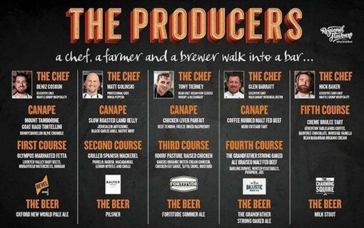 producers dinner menu
