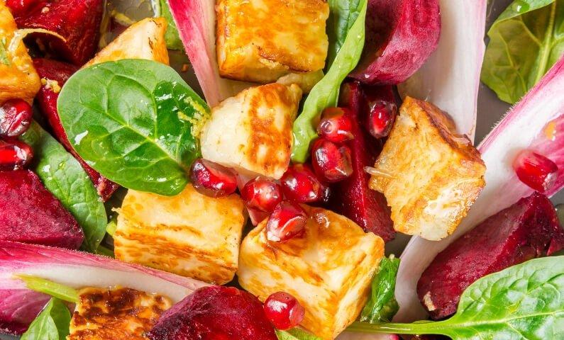 5 Halloumi Salad Combos You Need to Try