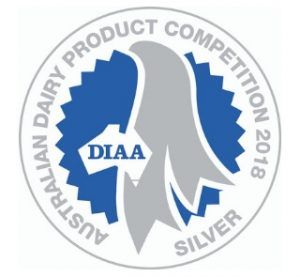 2018 dairy industry australia product competition silver awar