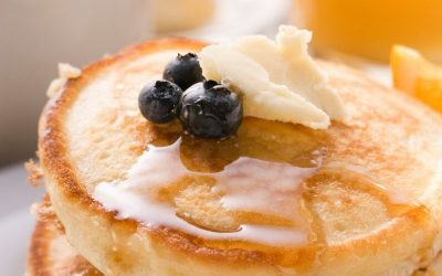 3 Delicious Ricotta Pancakes on Pancake Day