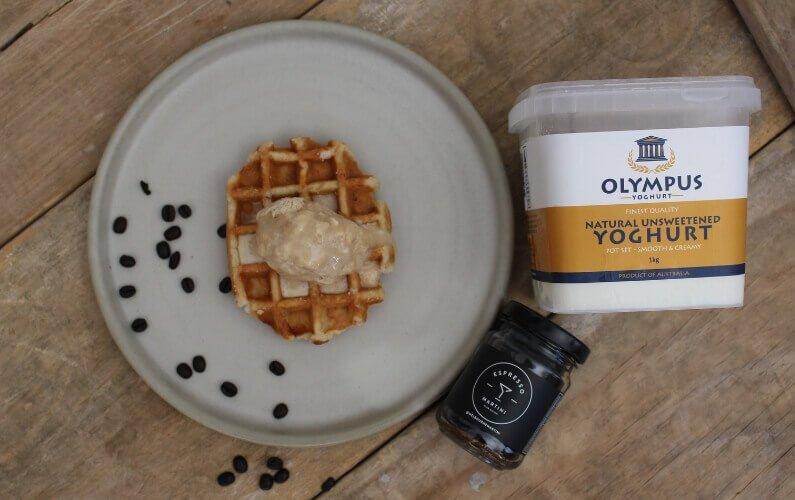 Espresso Yoghurt Semifreddo