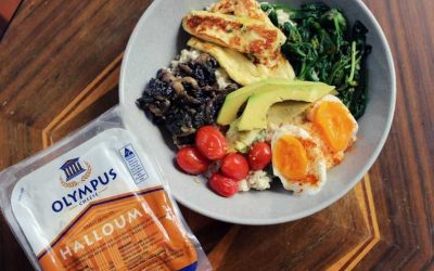 Halloumi Breakfast Bowl Ideas